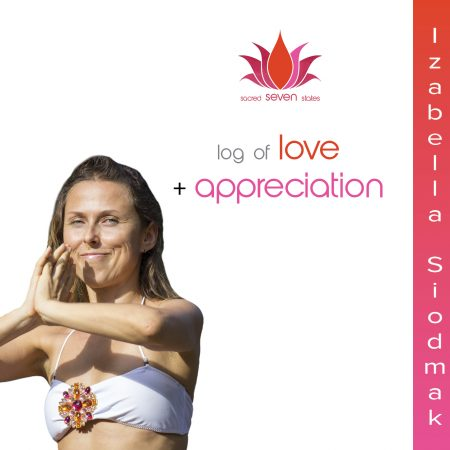 Log of Love and Appreciation Book Izabella Siodmak