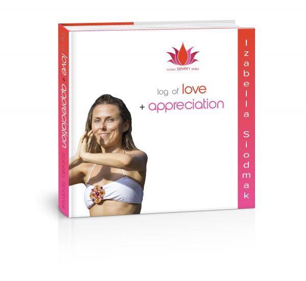 sacred-seven-statLog of Love + Appreciation book by Izabella Siodmak