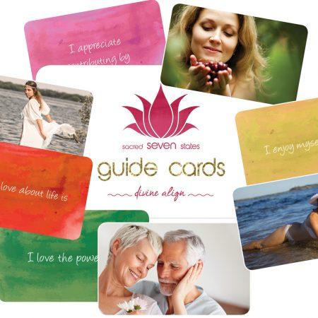 sacred seven states guide cards Izabella Siodmak