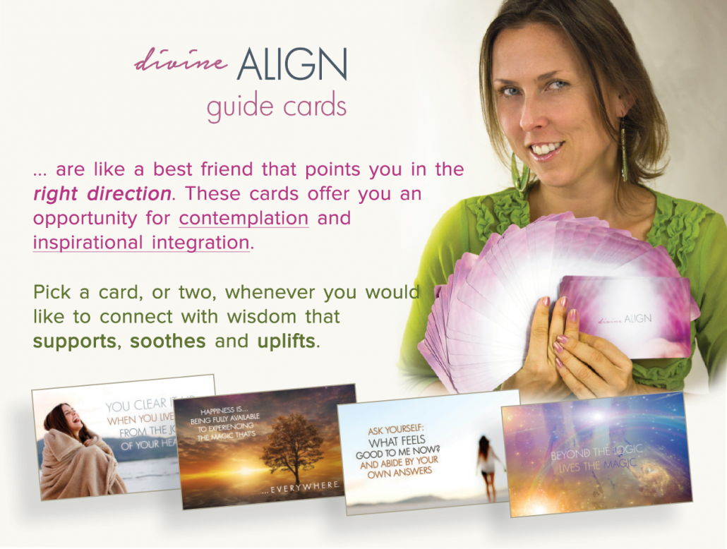 Divine Align Guide Cards with Izabella Siodmak